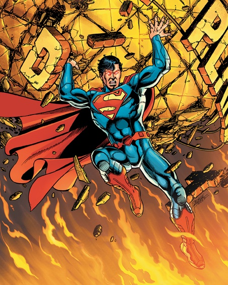 Cover to Superman (v 3) #1, 2011